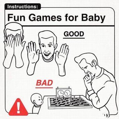 Juegos divertidos para el bebé