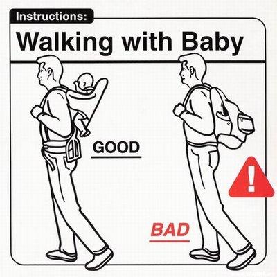 Caminando con el bebé