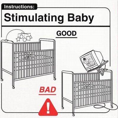 Estimulando al bebé