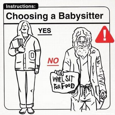 Escogiendo una niñera