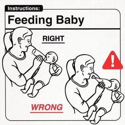 Alimentando al bebé