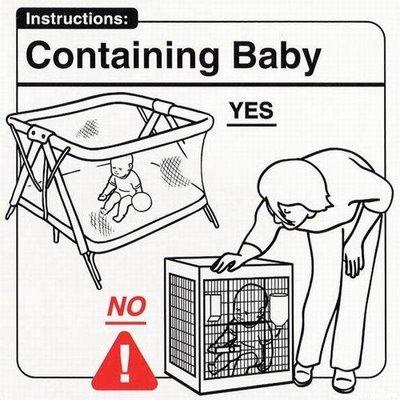 Conteniendo al bebé