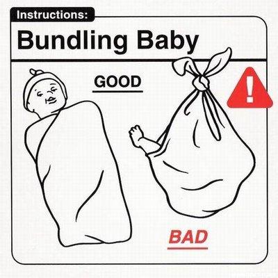 Amarrando al bebé