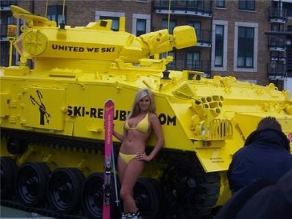 Tanque amarillo