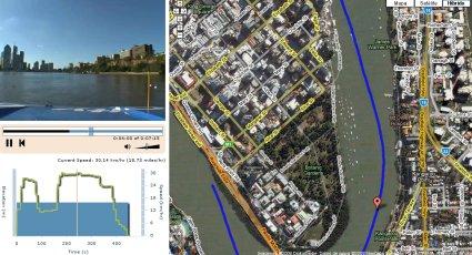 Viajes y paseos en video y googlemap