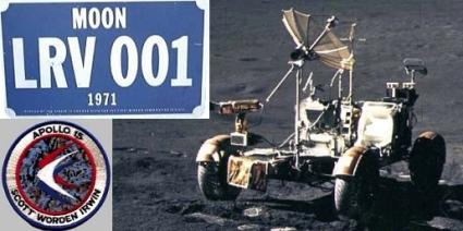 Matrícula del vehiculo lunar