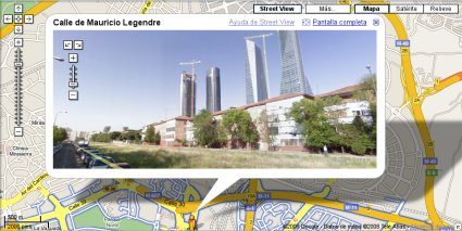 Google Maps Street View en Madrid