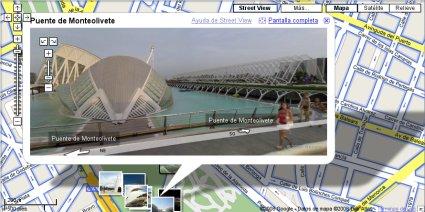 Google Maps Street View en Valencia