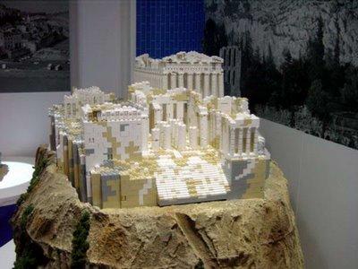 Edificios hechos con LEGO