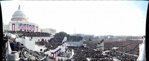 Panoramicas gigantes. Presidente Obama